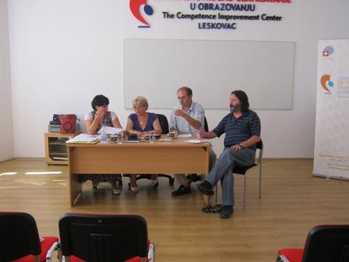 Са састанка директора, представника синдиката и ШУ